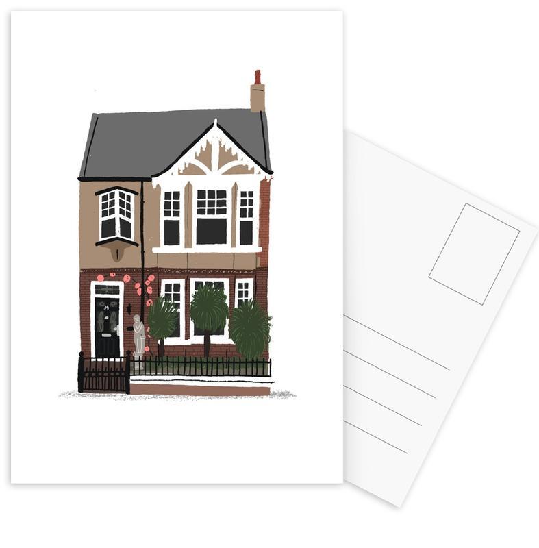 , House 2 ansichtkaartenset
