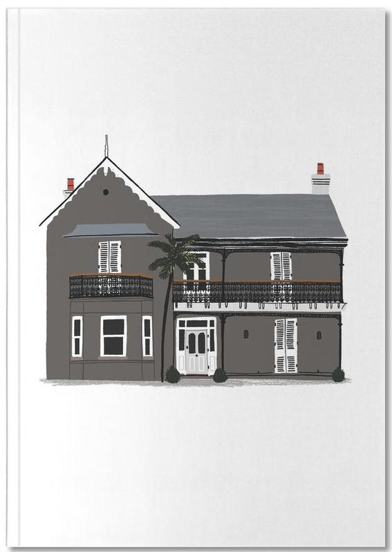 Crémaillères, House 3 Notebook