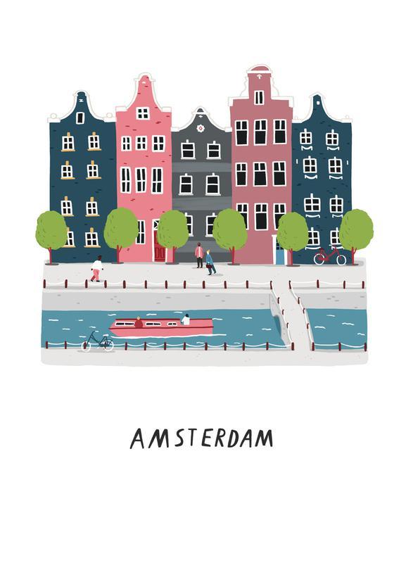 Amsterdam toile