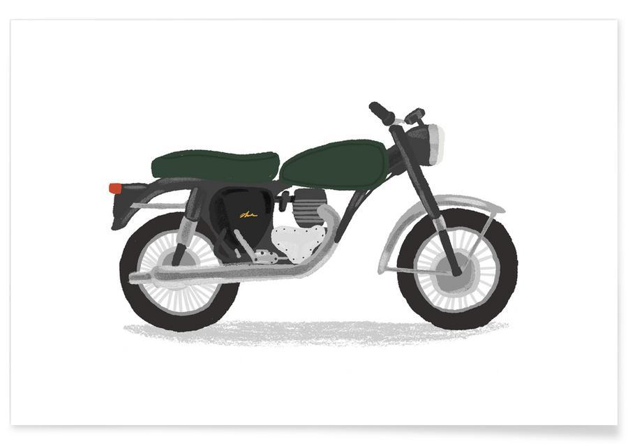 Classic Motorbike affiche