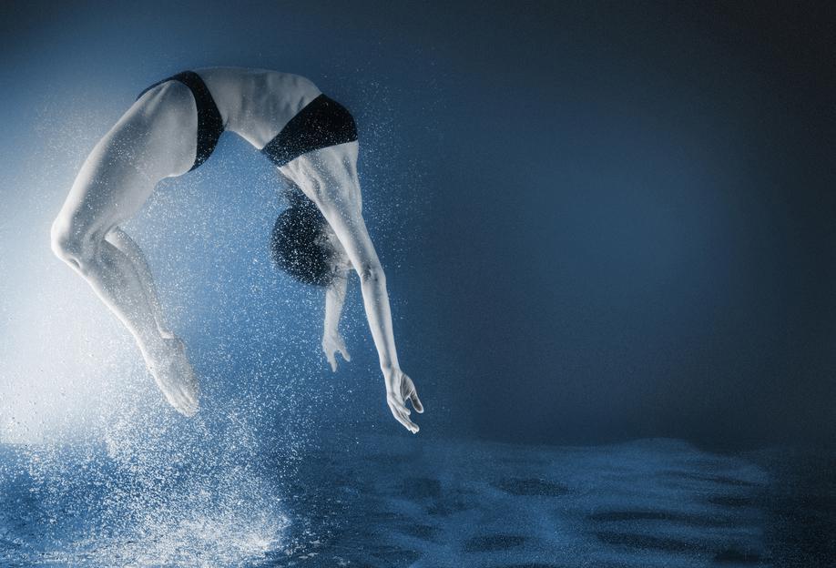 Dance, Dance, Dance 11 Aluminium Print