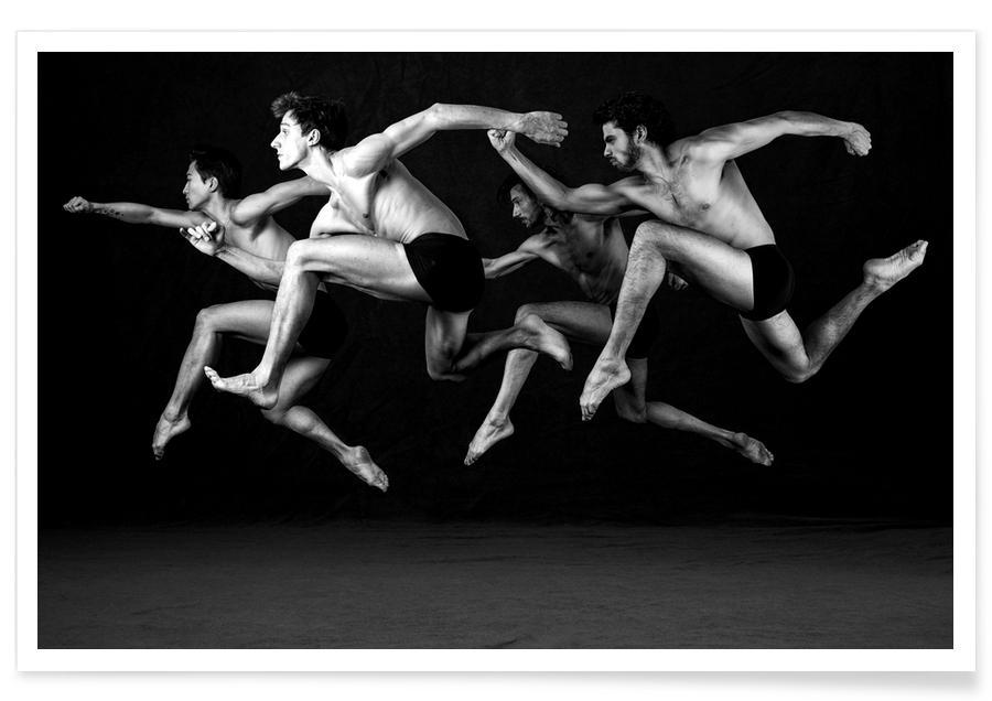 Black & White, Dance, Dance, Dance, Dance 19 Poster