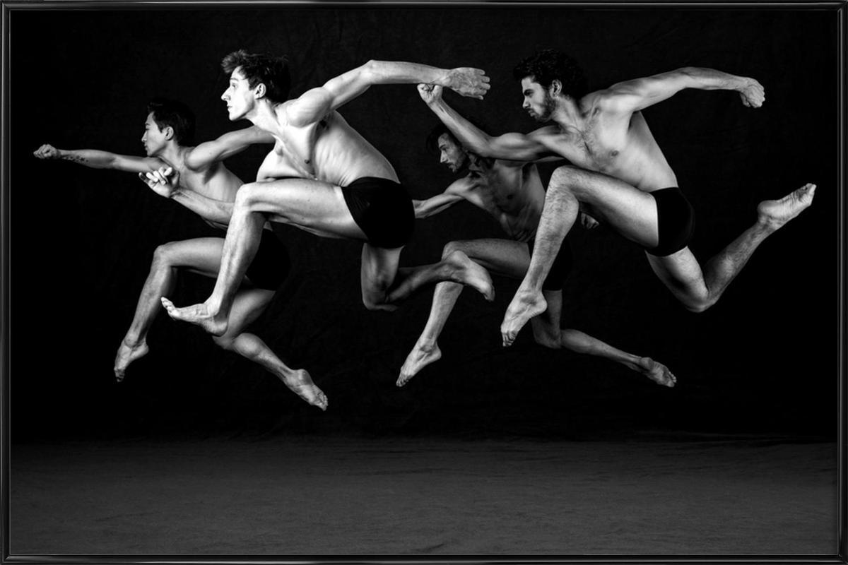Dance, Dance, Dance 19 -Bild mit Kunststoffrahmen