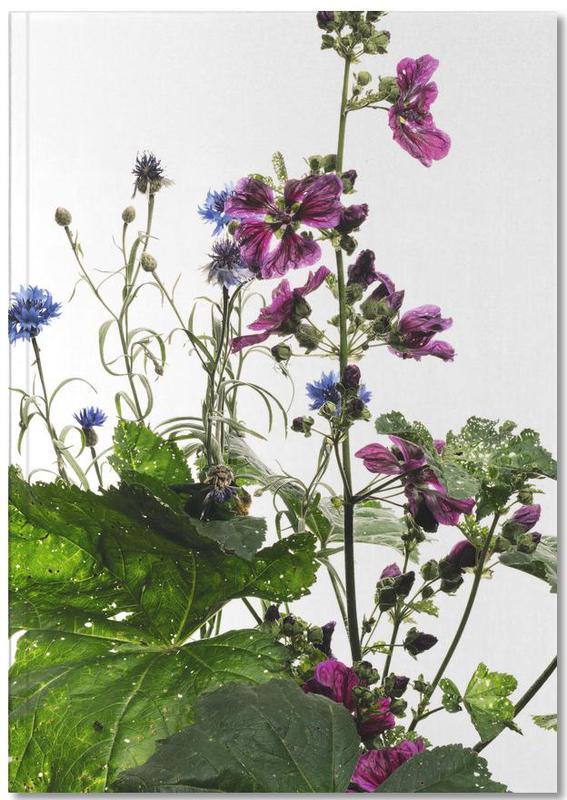 Flora - Wilde Malve Notebook
