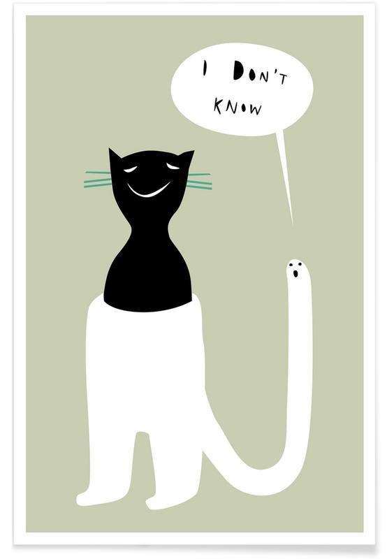 Katten, Oracle Beige poster