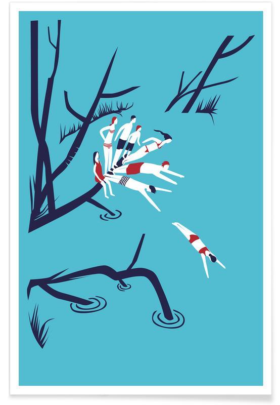 Groepen, Zwemmen, The End of Summer poster