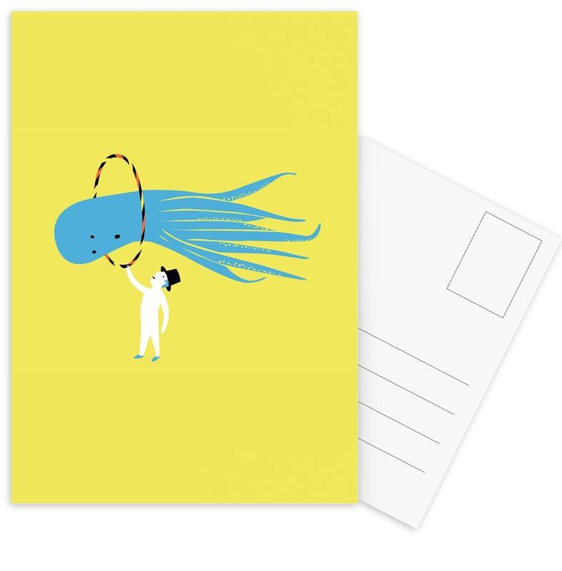 Art pour enfants, Jump cartes postales