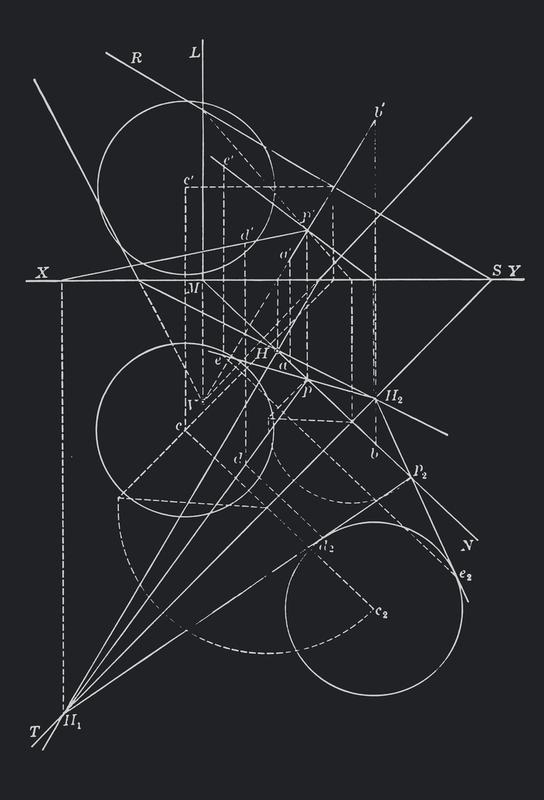 Compasses -Acrylglasbild