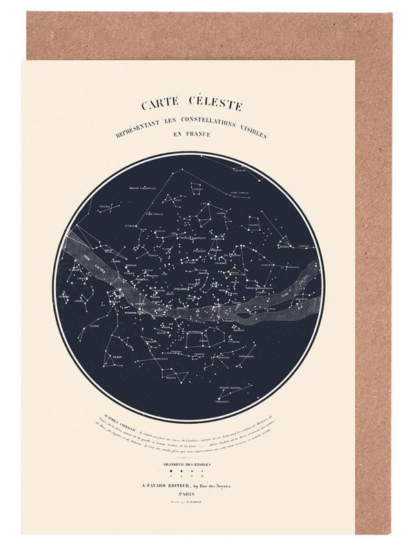 Carte du Ciel cartes de vœux