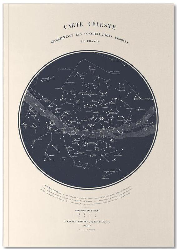 Carte du Ciel Notebook