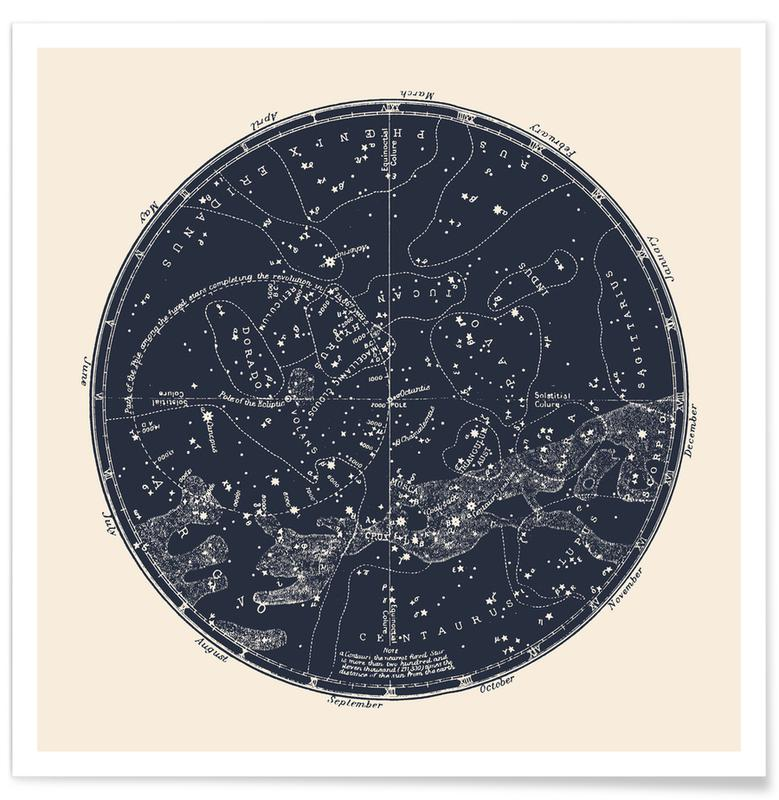 , Southern Constellations -Poster