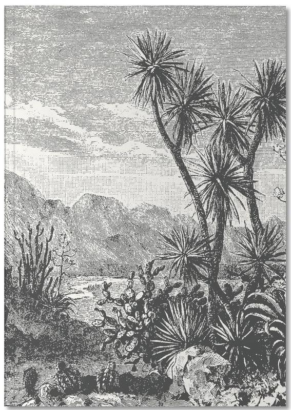 Cacti in Mountains Notebook
