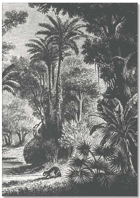 Indian Jungle -Notizblock
