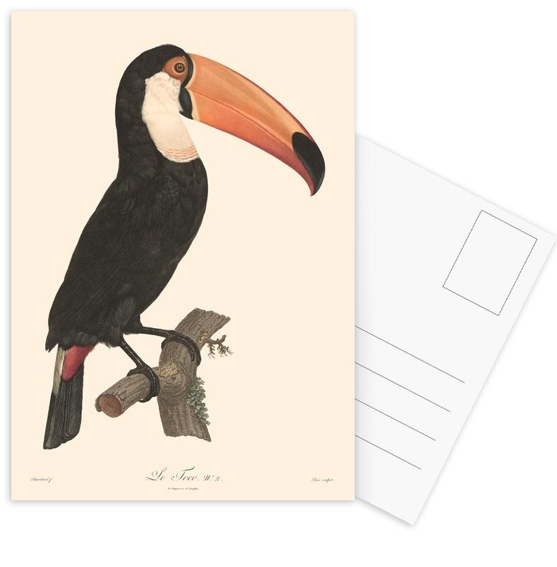 Le Toco -Postkartenset
