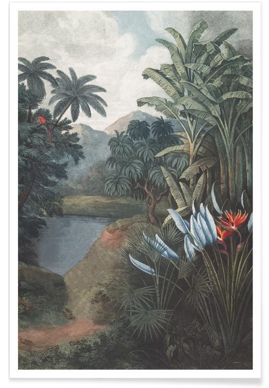 Bossen, Tropical Lake poster