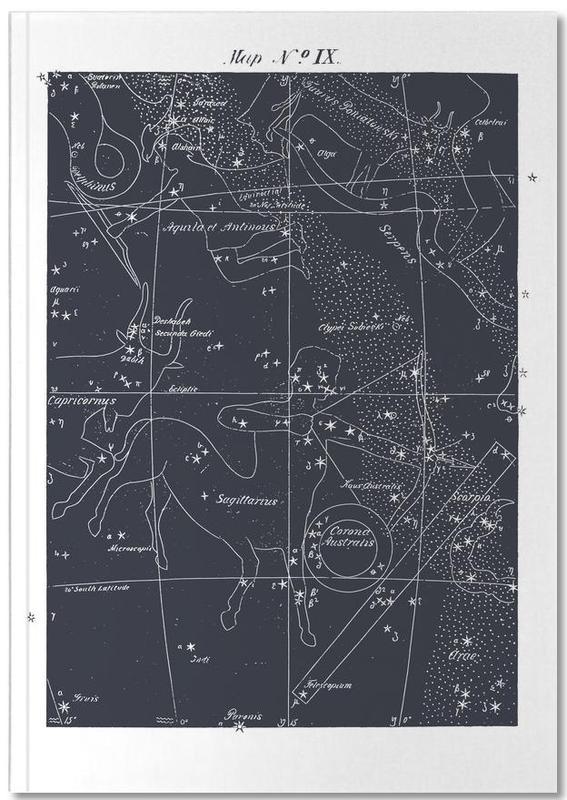 Sagittarius Blue Notebook