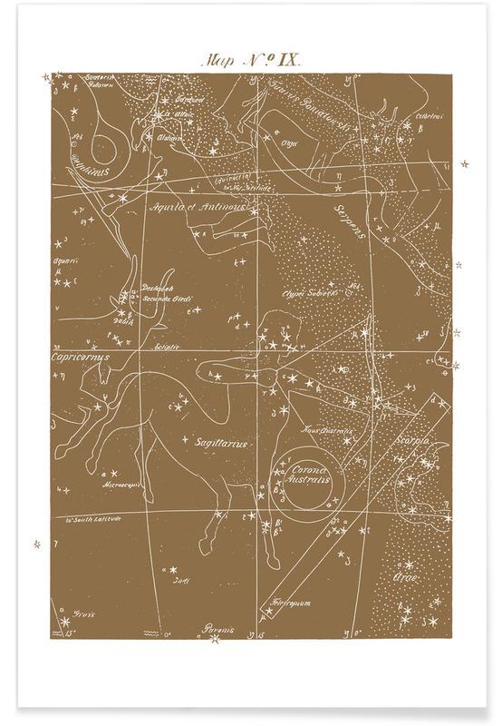 , Sagittarius Gold -Poster