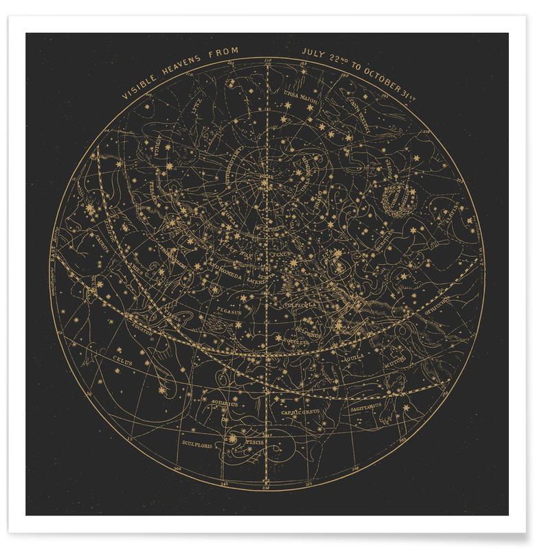 Visible Heavens Dark Poster