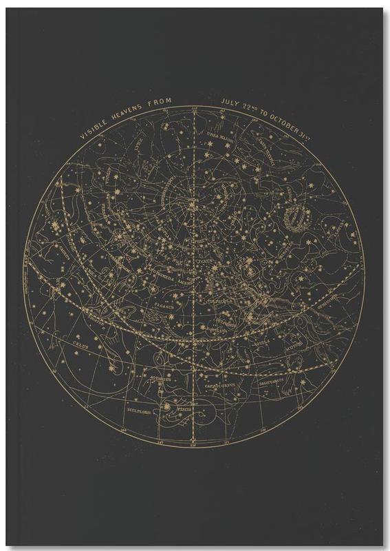 Visible Heavens Dark Notebook