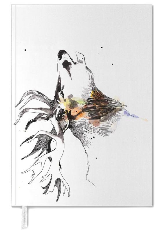 Cerfs, Art pour enfants, Hanjo agenda