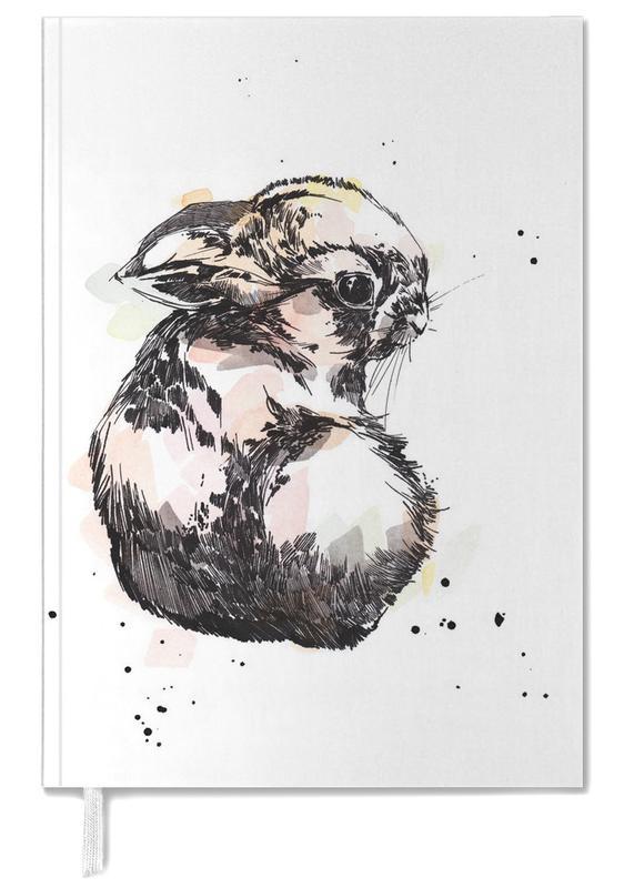 Nursery & Art for Kids, Rabbits, Hilla Personal Planner