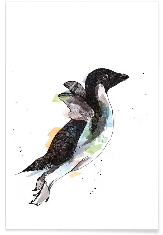 Pingouins, Pio affiche