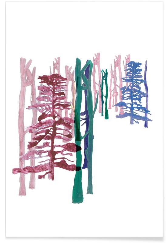 Bomen, Japan 2 poster