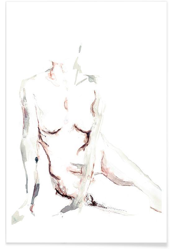 Body close-ups, Naakt, NUDE 6 poster