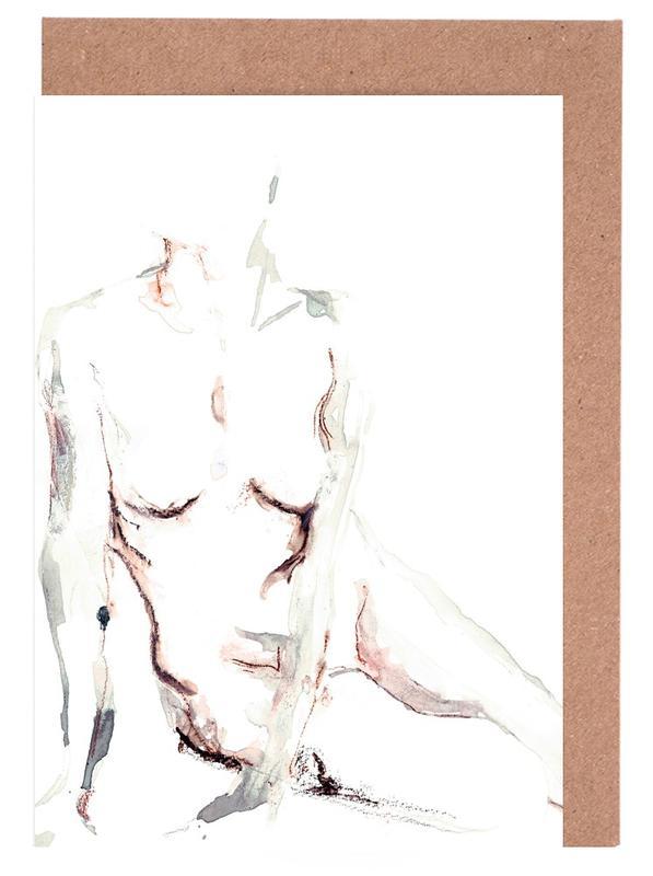 Körperformen, Akte, NUDE 6 -Grußkarten-Set