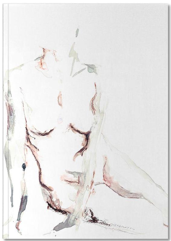 Body Close-Ups, Nude, NUDE 6 Notebook