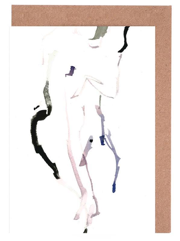 Körperformen, Akte, NUDE 7 -Grußkarten-Set