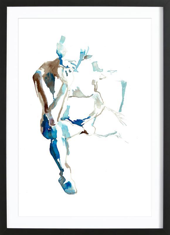 NUDE 8 Framed Print