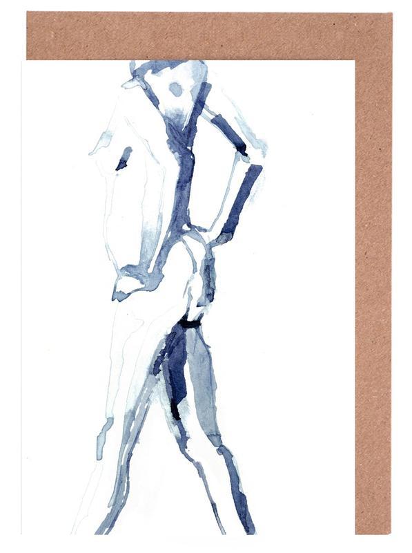 Körperformen, Akte, NUDE 9 -Grußkarten-Set