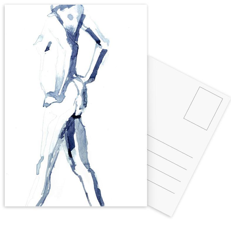 Körperformen, Akte, NUDE 9 -Postkartenset