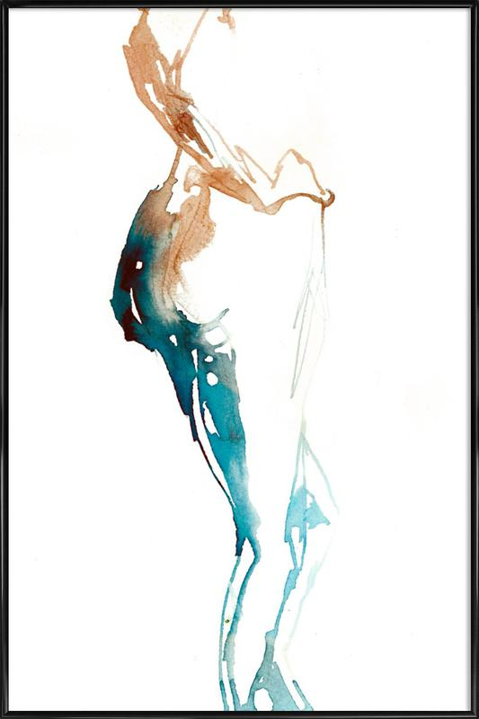 NUDE 10 Framed Poster
