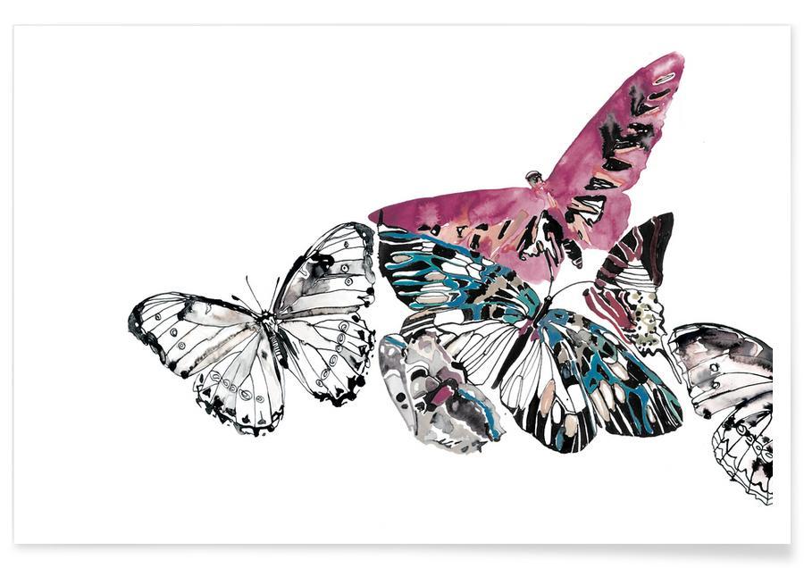 Vlinders, Butterflies poster