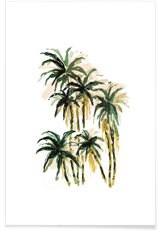 Palms, Plants 01 Poster