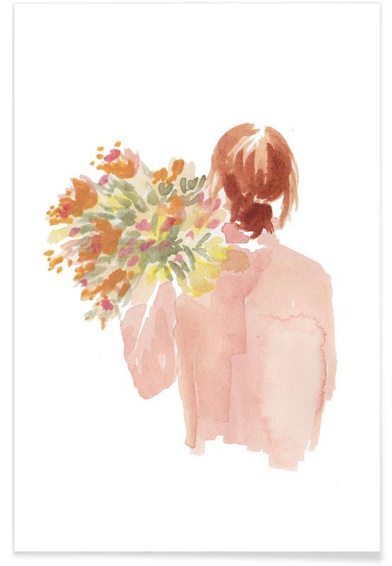 , Flowergirl I poster