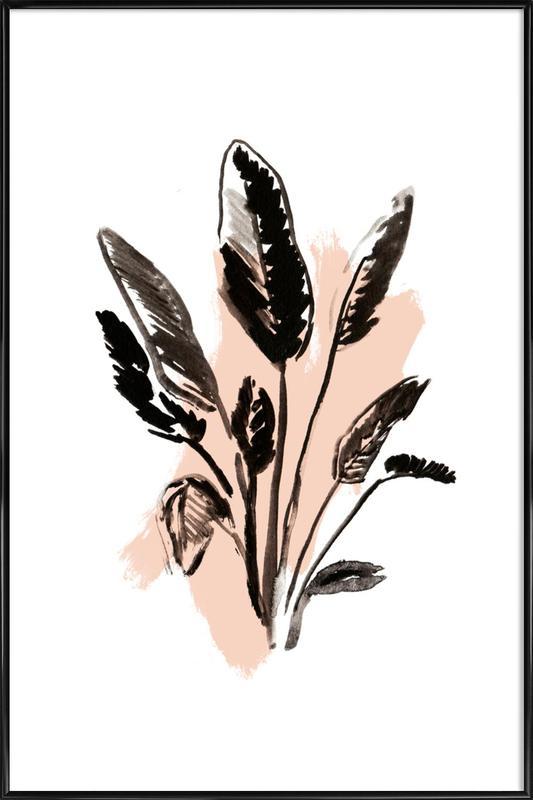 Plants & Colours 2 Framed Poster