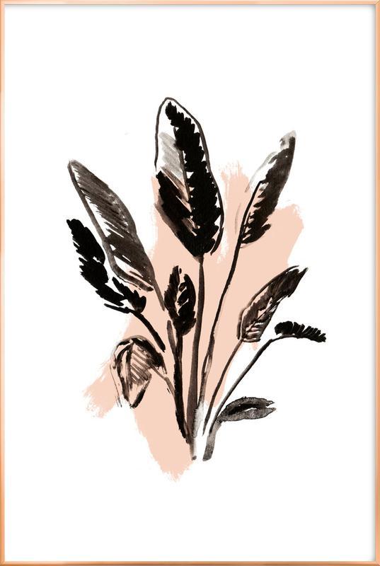 Plants & Colours 2 -Poster im Alurahmen