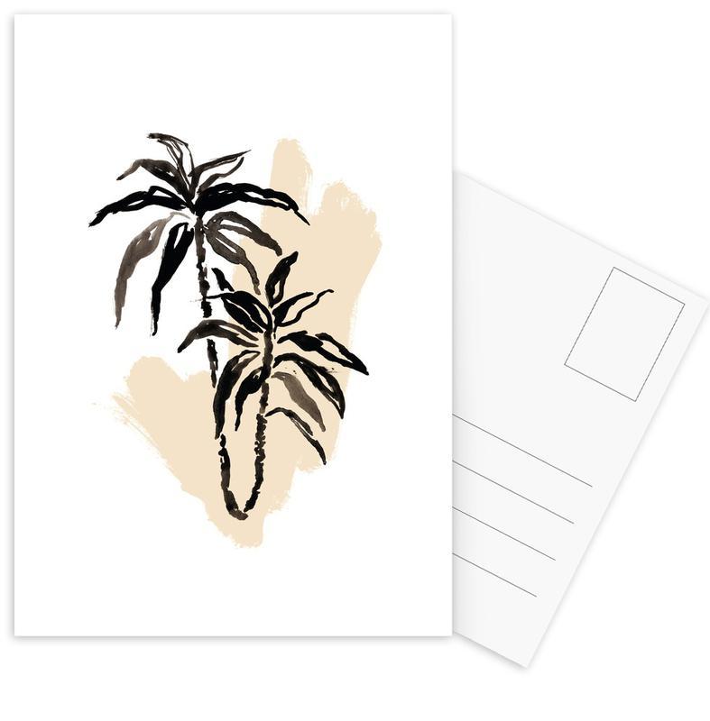 Plants & Colours 3 Postcard Set