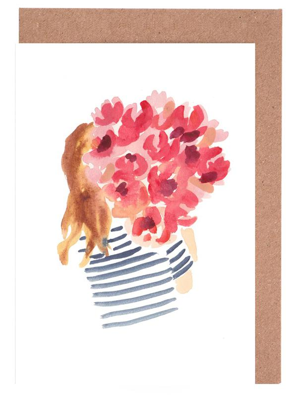 Flowergirl II -Grußkarten-Set