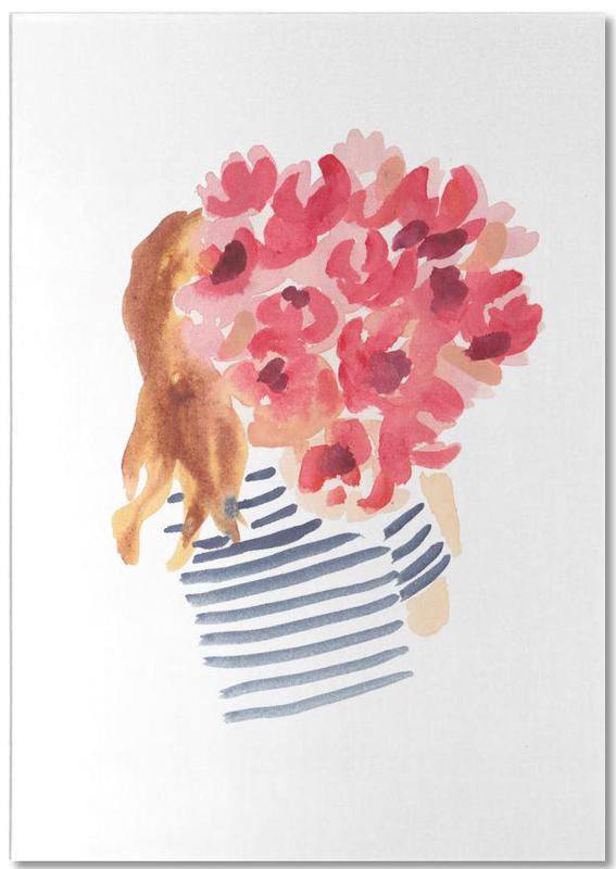 Flowergirl II Notepad