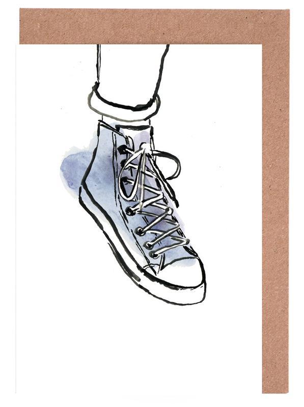 Shoe -Grußkarten-Set