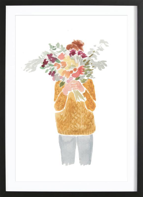 Flowergirl III Framed Print