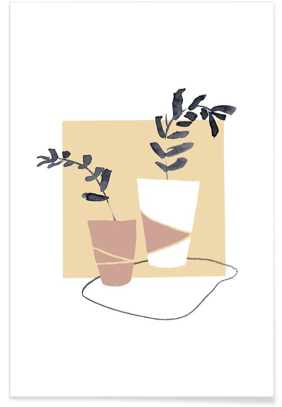 Plants in Vases 04 affiche