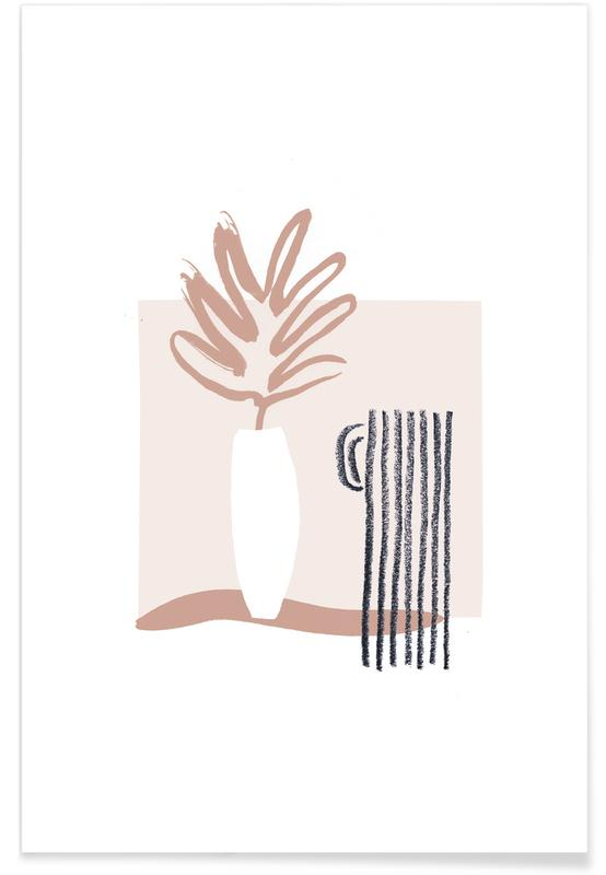 Plants in Vases 06 -Poster