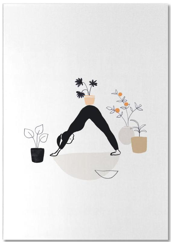 Yoga With Plants 01 Notepad