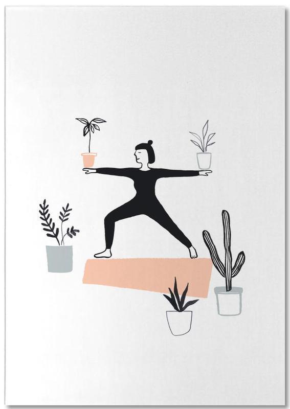 Yoga With Plants 02 -Notizblock