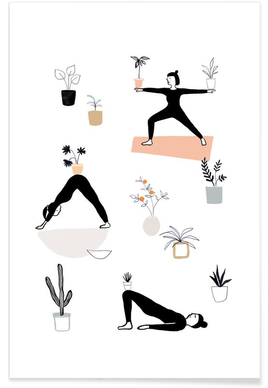 Yoga With Plants 04 -Poster